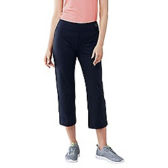 Lands' End - Blue women's cropped workout pants
