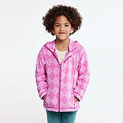Lands' End - Girls' printed thermacheck-200 hoodie
