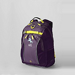 Lands' End - Purple plain class mate medium backpack