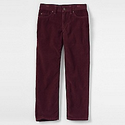 Lands' End - Purple little boys' cords