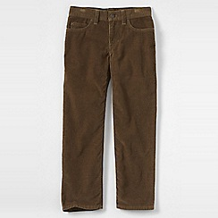 Lands' End - Brown little boys' cords
