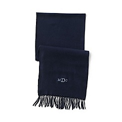 Lands' End - Blue men's cashtouch scarf