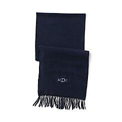 Lands' End - Blue men's cashtouch scarf