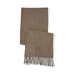 Lands' End - Brown cashtouch scarf