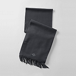Lands' End - Grey men's cashtouch scarf