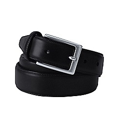 Lands' End - Black men's glove leather belt