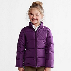 Lands' End - Purple girls' down jacket
