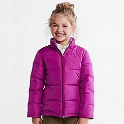 Lands' End - Pink girls' down jacket
