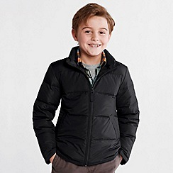Lands' End - Black boys' down jacket