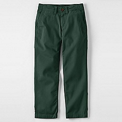 Lands' End - Green boys' iron knee cadet trousers