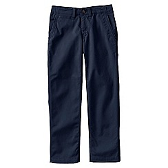 Lands' End - Blue little boys' iron knee cadet trousers