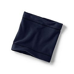 Lands' End - Blue boys' thermacheck-200 fleece neck warmer