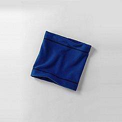 Lands' End - Blue boys' thermacheck-200 fleece neck warmer