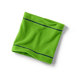 Lands' End - Green boys' thermacheck-200 fleece neck warmer