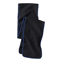 Lands' End - Black boys' fleece scarf