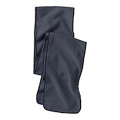 Lands' End - Grey boys' fleece scarf