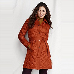 Lands' End - women's quilted insulator coat
