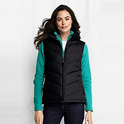 Lands' End - Black women's down gilet