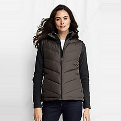 Lands' End - Brown women's down gilet