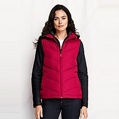 Lands' End - Red women's down gilet