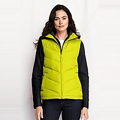 Lands' End - Green women's down gilet