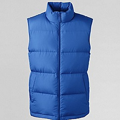 Lands' End - Blue men's down gilet