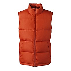 Lands' End - Orange men's down gilet