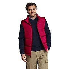 Lands' End - Red men's down gilet