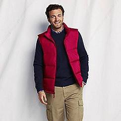 Lands' End - Red men's big down gilet