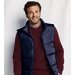 Lands' End - Blue men's big down gilet