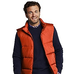 Lands' End - Orange down gilet