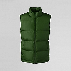 Lands' End - Green men's down gilet