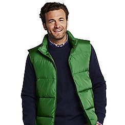 Lands' End - Green down gilet