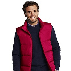 Lands' End - Red tall  down gilet