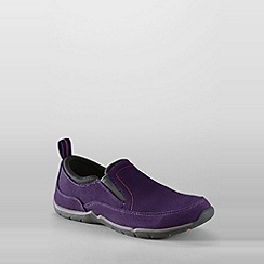 Lands' End - Purple women's everyday slip-on shoes