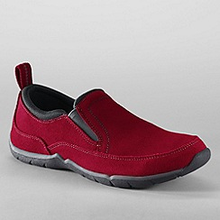 Lands' End - Red women's everyday slip-on shoes