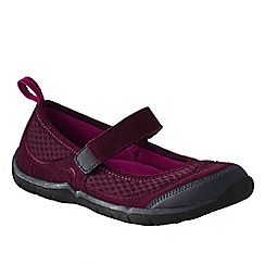 Lands' End - Purple women's wide trail sport mary jane shoes