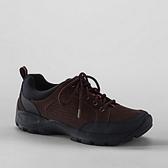Lands' End - Brown men's all terrain lace-up shoes