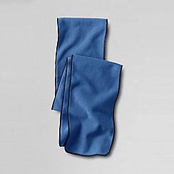 Lands' End - Blue girls fleece scarf