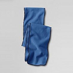 Lands' End - Blue girls fleece scarf