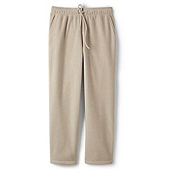 Lands' End - Beige fleece pull-on bottoms