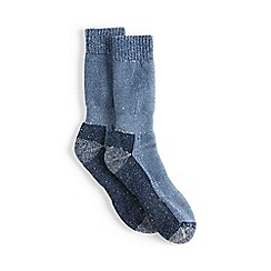 Lands' End - Blue snow pack boot socks