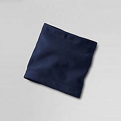 Lands' End - Blue boys' thermcheck 100 neck warmer