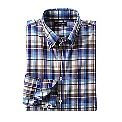 Lands' End - Multi traditional fit easy-iron twill shirt