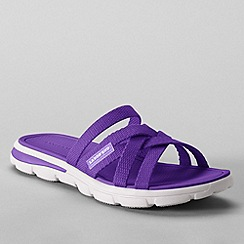 Lands' End - Purple women's  alpargata slip-on sandals