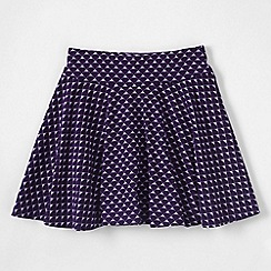 Lands' End - Pink girls' patterned twirl skort