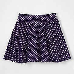 Lands' End - Pink little girls' patterned twirl skort