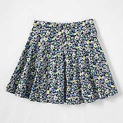 Lands' End - Blue little girls' patterned twirl skort