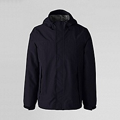 Lands' End - Blue men's squall rain jacket