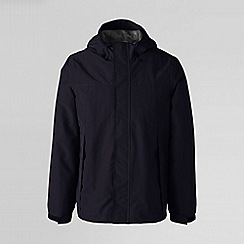 Lands' End - Blue men's squall® rain jacket
